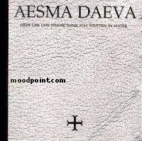 Aesma Daeva - Here Lies One Whose Name Was Written In Water Album