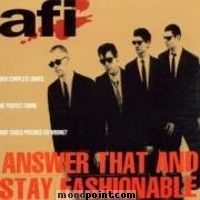 A.f.i. - Answer That and Stay Fashionable Album