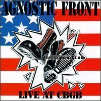 Agnostic Front - Live At CBGBs Album