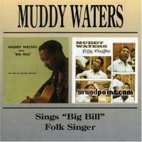 Waters Muddy - Big Bill Broonzy - Folk Singer Album